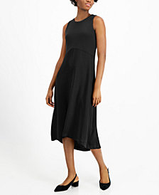 Alfani Mixed-Media Midi Dress, Created for Macy's