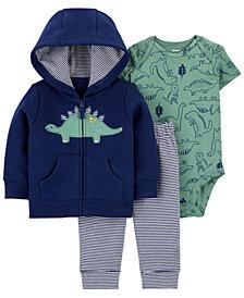 Carter's Baby Boys 3-Piece Dinosaur Little Jacket Set