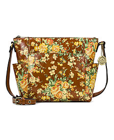 Patricia Nash Leather Aveley Crossbody, Exclusive For Macy's