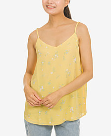 Hippie Rose Juniors' V-Neck Cami