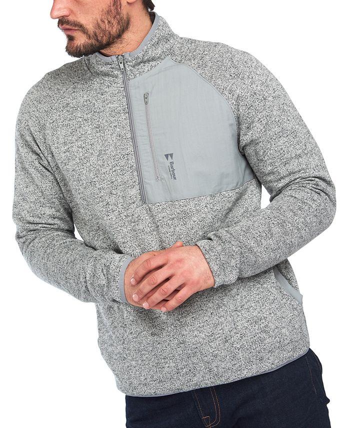 Barbour - Men's Liam Half-Zip Pullover Sweater