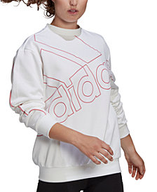 adidas Women's Big-Logo Sweatshirt