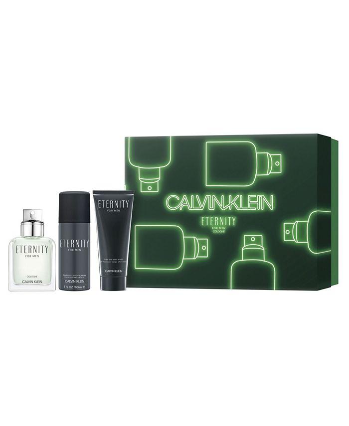 Calvin Klein - Men's 3-Pc. Eternity Cologne Gift Set