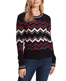 Jessica Simpson The Marcelina Chervron Sweater