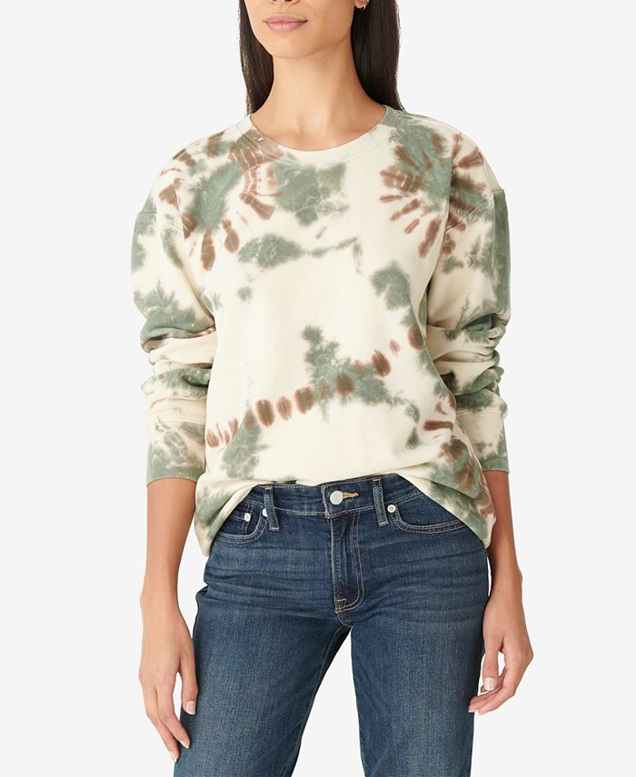Lucky Brand - Tie-Dyed Pullover Top