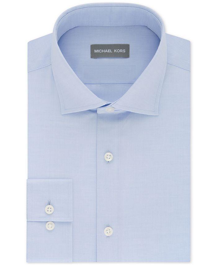 Michael Kors - Men's Slim-Fit Performance Stretch Dress Shirt