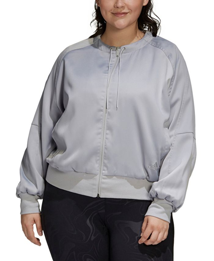 adidas - Plus Size City Light Jacket