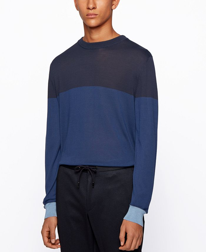 Hugo Boss - Men's T-Dinunzio Colorblocked Sweater