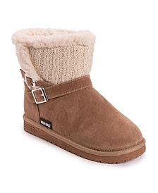 Muk Luks Women's Alyx Cold Weather Cozy Booties