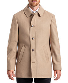 Chaps Men's Classic Single Breasted Overcoat