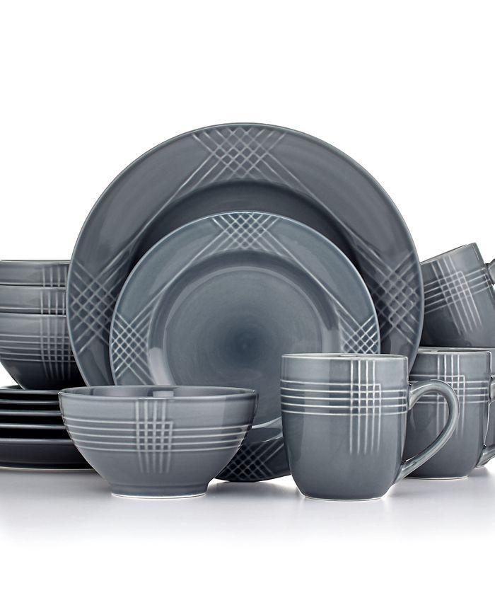 Thomson Pottery - Thomson Poplin Ocean 16-Piece Set