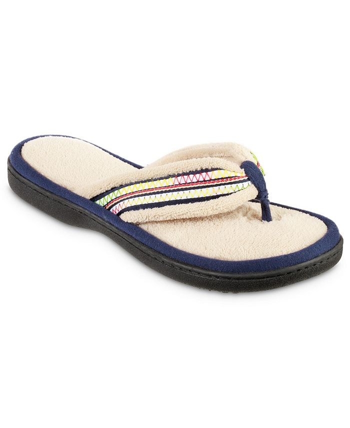 Isotoner Signature - Isotoner Women's Microterry Anna Thong Slipper