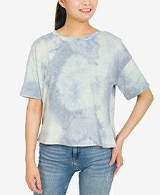 Hippie Rose Juniors' Tie-Dyed T-Shirt
