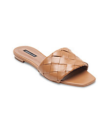 BCBGMAXAZRIA Women's Remi Flat Sandal