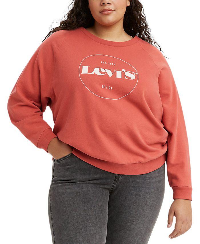 Levi's - Trendy Plus Size Vintage-Style Logo Sweatshirt