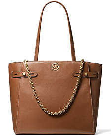 Michael Michael Kors Carmen Large Leather Belted Tote