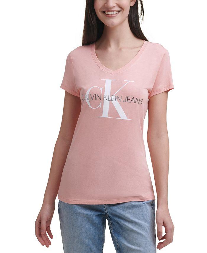Calvin Klein Jeans - V-Neck Logo T-Shirt