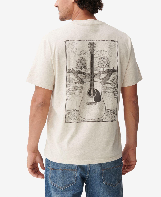 Lucky Brand Martin Drawing T-shirt & Reviews - T-Shirts - Men - Macy's