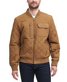Levi's® Men's Diamond Quilted Bomber Jacket