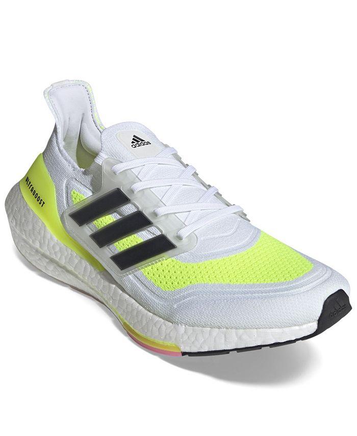 adidas Men's UltraBOOST 21 Primeblue Running Sneakers from ...