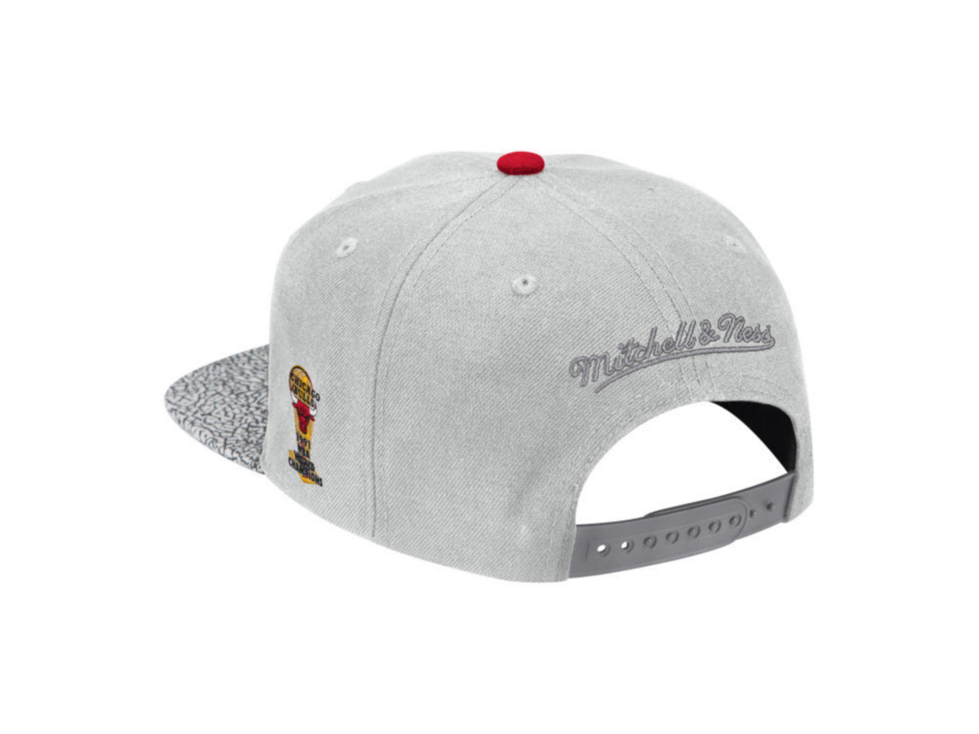 Mitchell & Ness Chicago Bulls Cool Gray Print Snapback Cap & Reviews - NBA - Sports Fan Shop - Macy's
