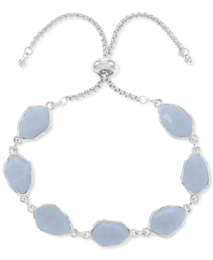 Style & Co Stone Slider Bracelet, Created for Macy's & Reviews - Bracelets - Jewelry & Watches - Macy's