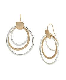 Robert Lee Morris Soho Orbital Drop Earrings