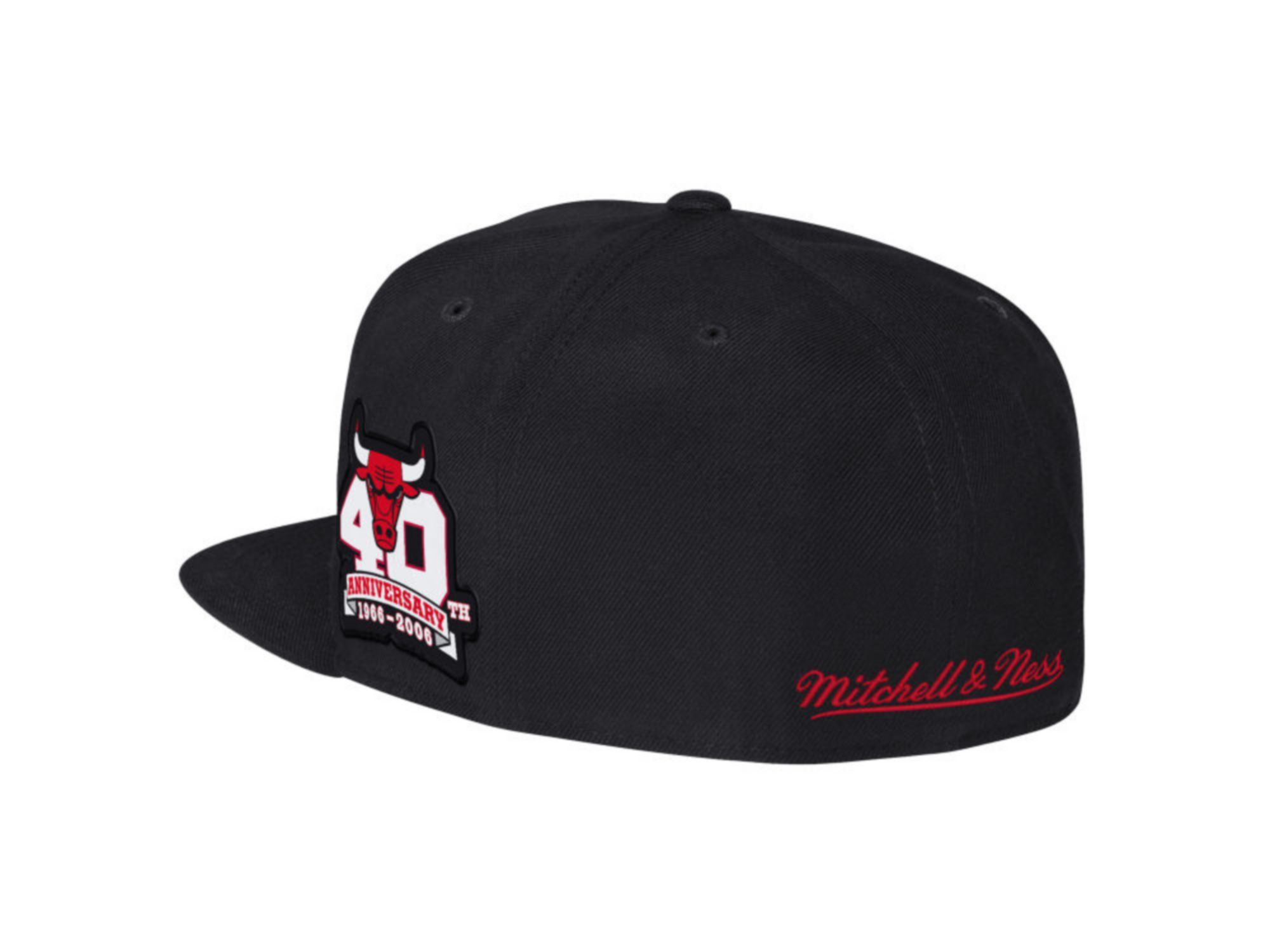 Mitchell & Ness Chicago Bulls Hardwood Classic Anniversary Patch 2-Tone Fitted Cap & Reviews - NBA - Sports Fan Shop - Macy's