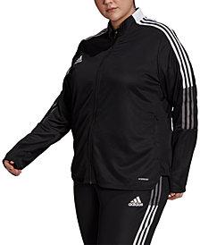 adidas Plus Size Tiro 21 Track Jacket