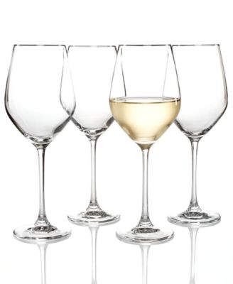 Hotel Collection Set of 4 White Wine Glasses