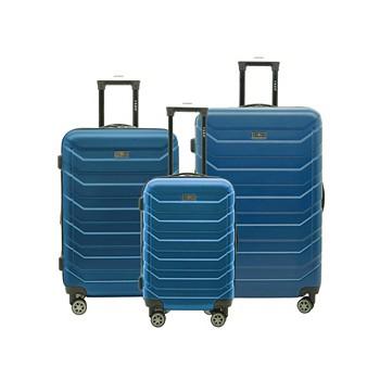 Travelers Club Madison 3 Piece Expandable Spinner Luggage Set