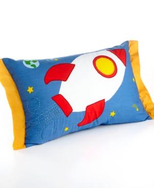 Rocketship Decorative Pillow