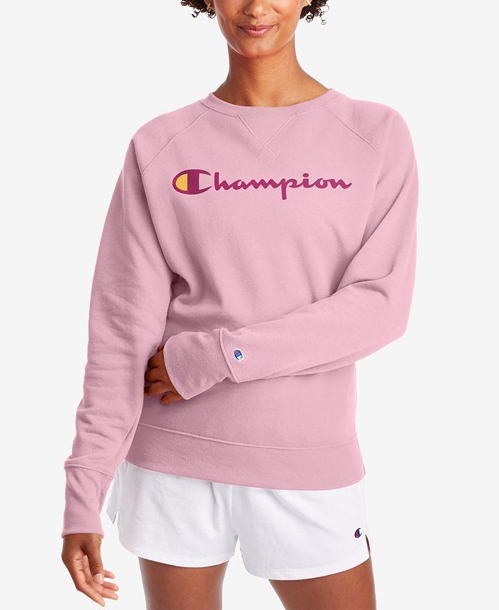 Champion - Powerblend Graphic Boyfriend Sweatshirt