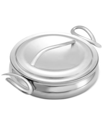 "Nambe CookServ 10"" Saute Pan with Lid"