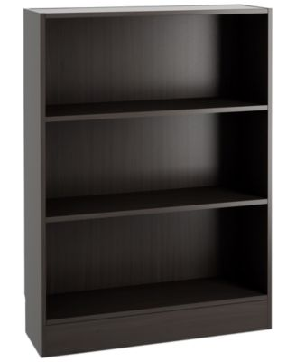 Berkley Ready-to-Assemble Short Wide Bookcase, Direct Ship
