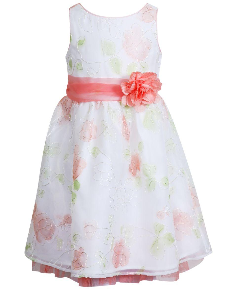 Sweet Heart Rose Little Girls Dot Dress   Kids