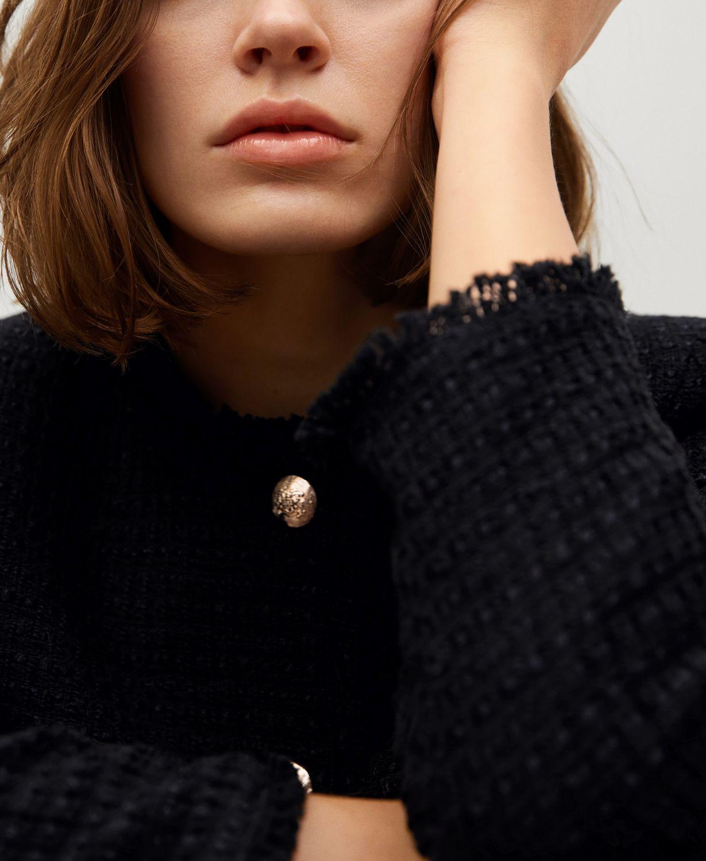MANGO Pocket Tweed Jacket & Reviews - Women - Macy's