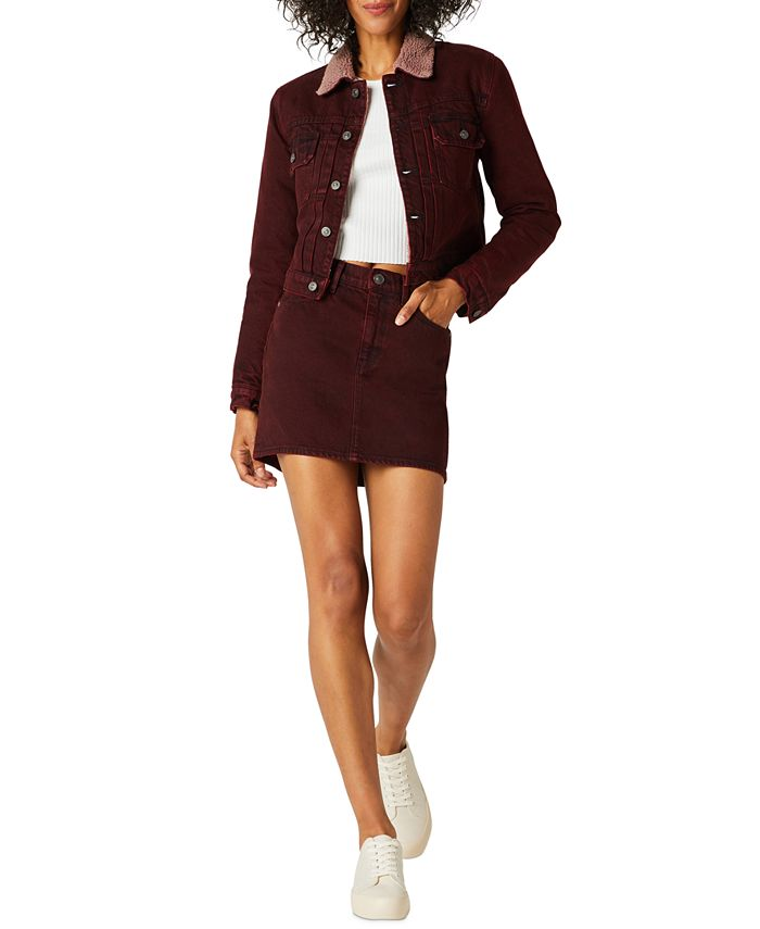 Hudson Jeans - Viper Cotton Denim Mini Skirt