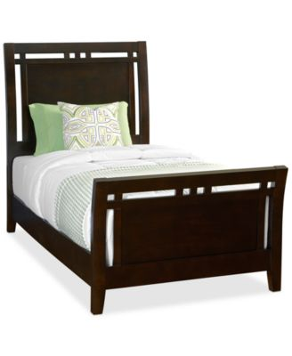 Concorde Twin Bed 1 Side Storage Furniture Macy s