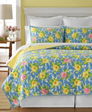 Martha Stewart Collection Tropic Flowers Quilts
