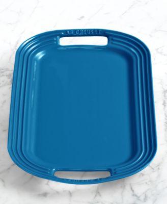 "Le Creuset Enameled Stoneware 16.5"" Serving Platter"