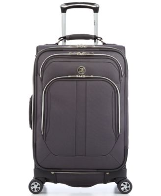 "CLOSEOUT! 60% Off Revo Twist 21"" Carry On Expandable Spinner Suitcase, Only at Macy's"