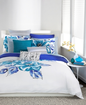 Bar Iii Flourish King Comforter Bedding $ 220.00