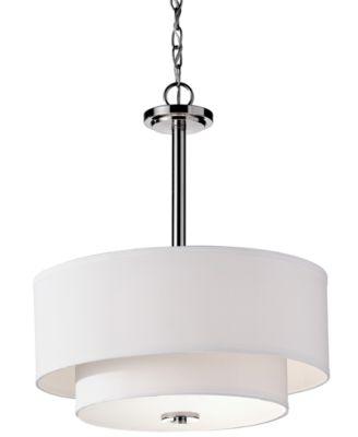 Feiss 3-Light Malibu Pendant