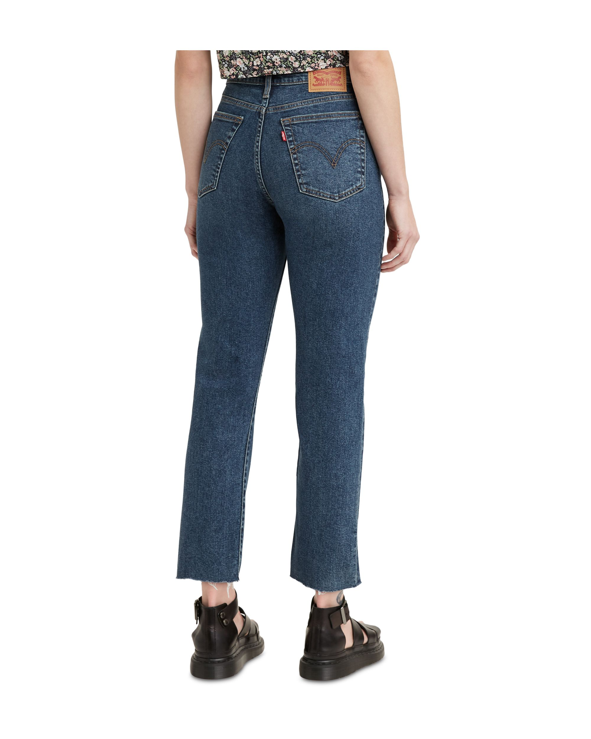 Women\'s Wedgie Straight-Leg Cropped Jeans Queen Of The Meadow