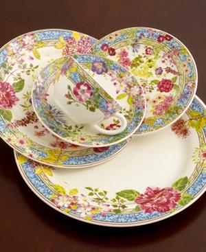 "Gien Mille Fleur Breakfast Saucer, 5-1/2"""