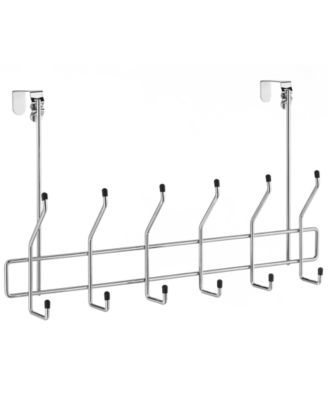 Whitmor Over the Door Chrome Storage Hooks