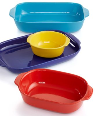 CW by Corningware 4 Piece Nesting Bakeware Set