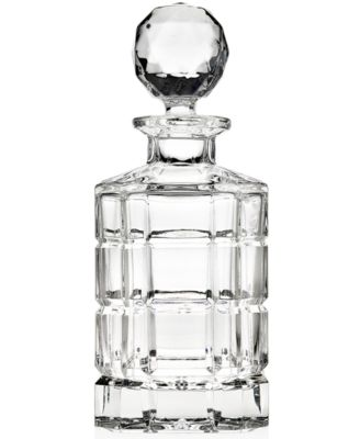 Godinger Plaid Decanter