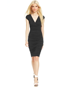 Bar Iii Ruched Dress $ 69.00